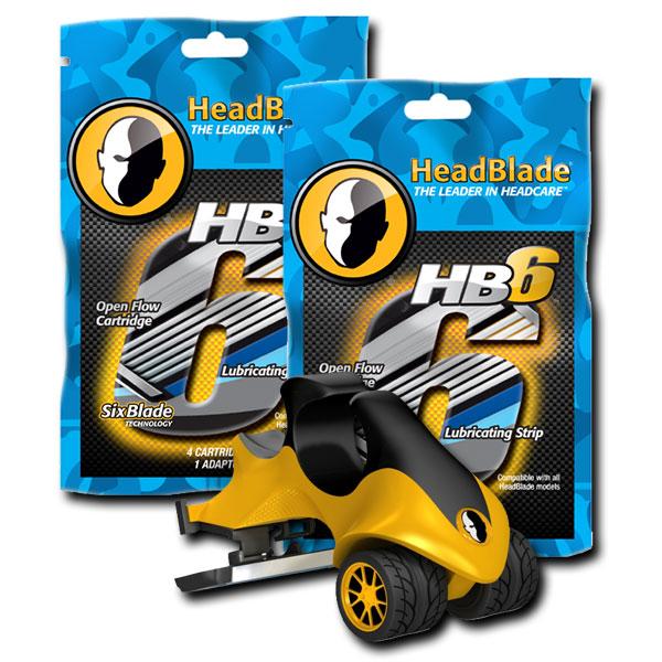 ヘッドブレードATX6枚刃スターターキット