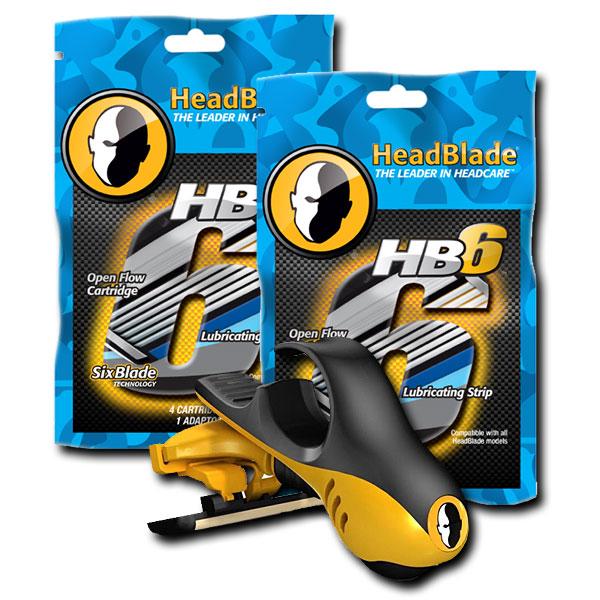 ヘッドブレードMOTO6枚刃スターターキット